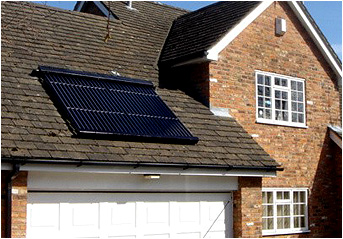 Solar Water Heating available form JS Plumbing Services Limited in Doncaster